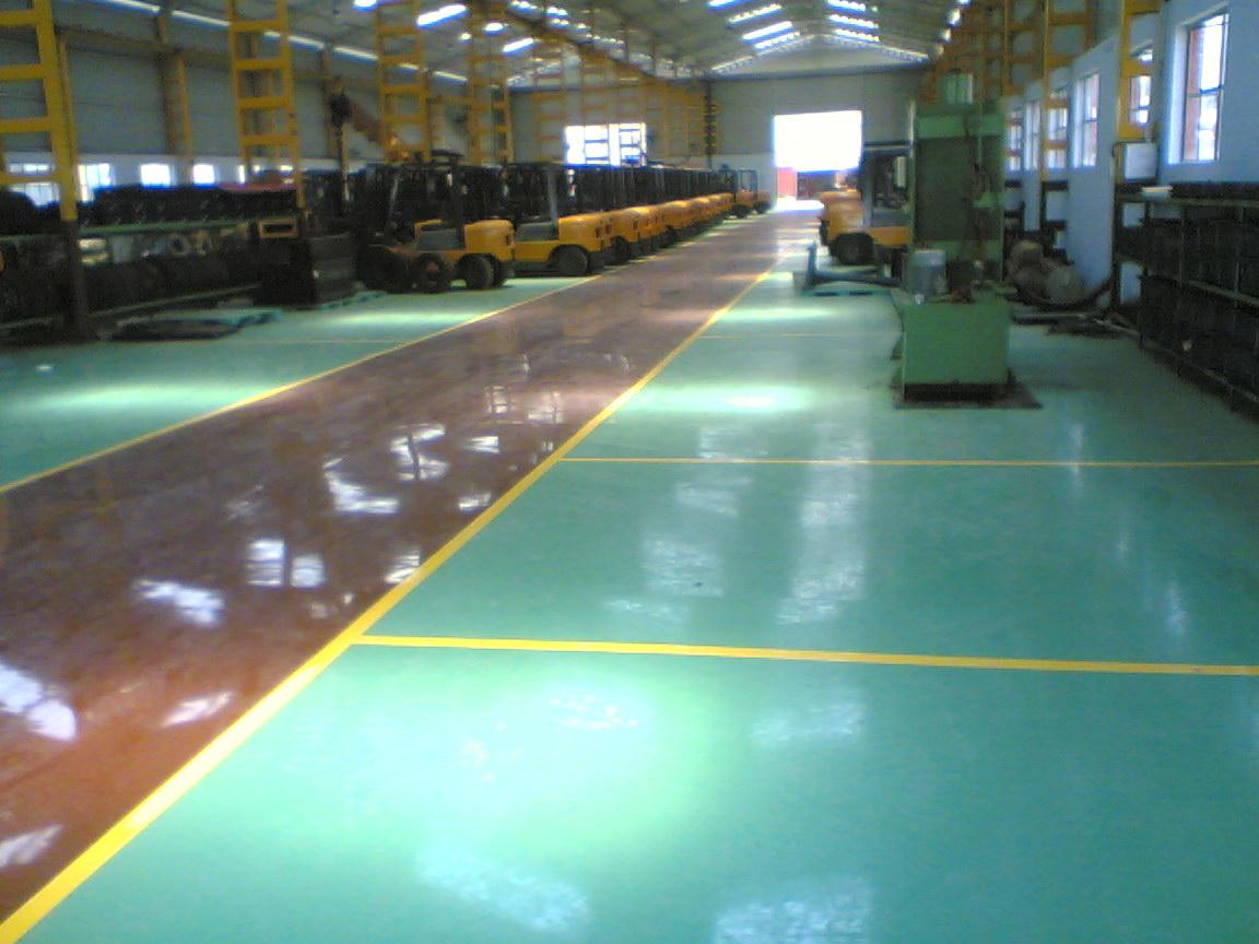 jasa epoxy lantai beton murah